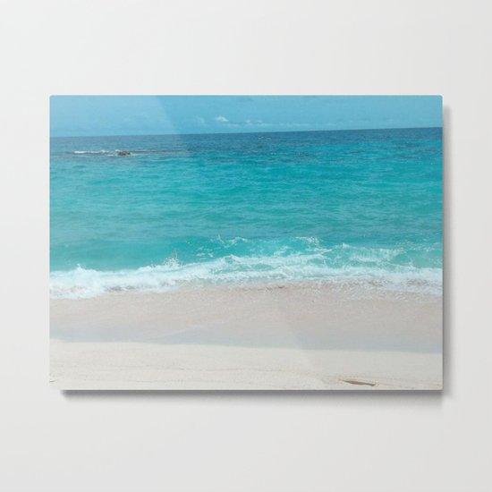 Bermuda Beach 1 Metal Print
