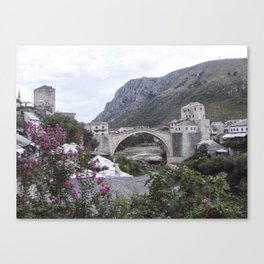 Mostar BiH III Canvas Print