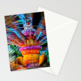 Cray Cray crazy fun at the carnival Stationery Cards