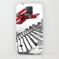 asc 114 - Le Baron Rouge & son ours Darwin (La montagne où tombent les étoiles) Galaxy S5 Slim Case
