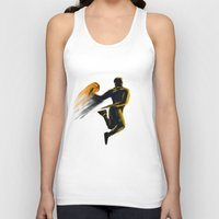 basketball Tank Tops featuring Basketball  by Enzo Lo Re