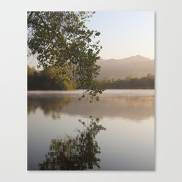 Tranquility Lake Canvas Print