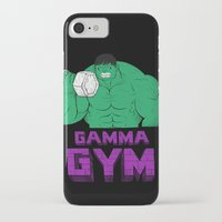 gym iPhone & iPod Cases featuring gamma gym by Louis Roskosch