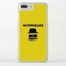 heisenberg parody Clear iPhone Case
