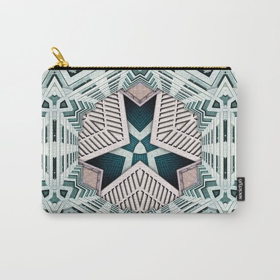 City Buildings Abstract 4 Carry-All Pouch