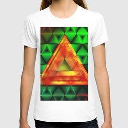 Ruby triangle T-shirt