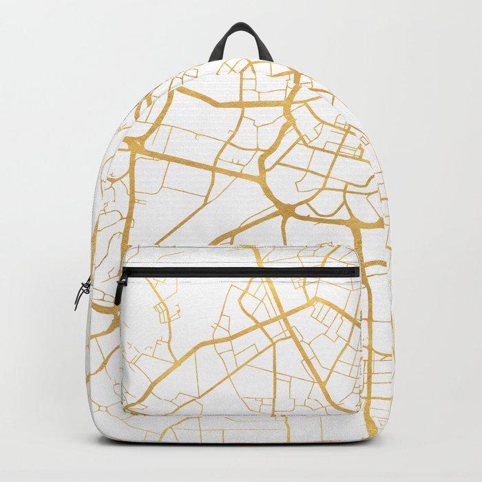 MANCHESTER ENGLAND CITY STREET MAP ART Rucksack