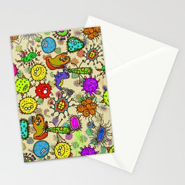 Doodle Germs Stationery Cards