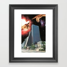 The Coming Of The Celestials Framed Art Print