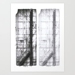Trestle Art Print