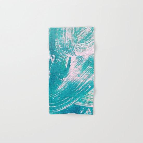 Turquoise Hand & Bath Towel