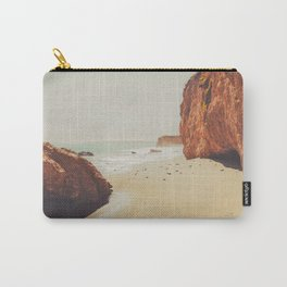 Beach Day - Ocean, Coast - Landscape Nature Photography Carry-All Pouch
