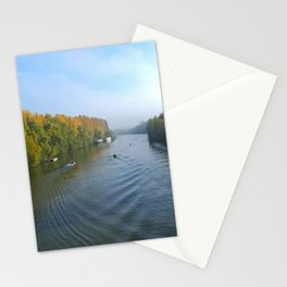 Water Boatmen of the River Oise Stationery Cards