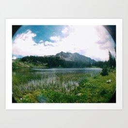 Mountains 8 Art Print