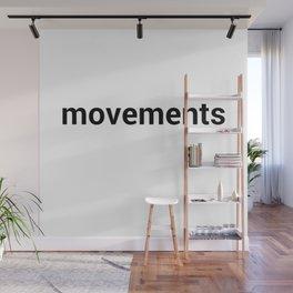 movements Wall Mural