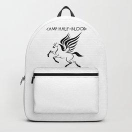 Camp Half-Blood Black Wings Backpack