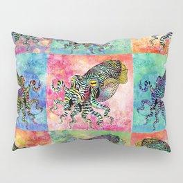 Cuttlefish Patchwork Pillow Sham