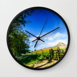 Roseberry Pass Wall Clock