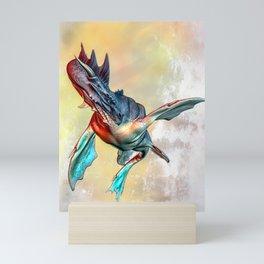 Nessie Mini Art Print