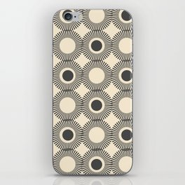 Charcoal Atomic iPhone Skin