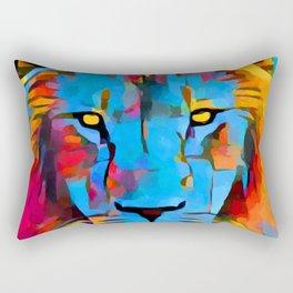 Lion 2 Rectangular Pillow