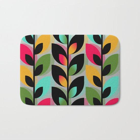Joyful Plants III Bath Mat