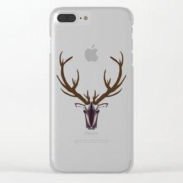 A reindeer matter! Clear iPhone Case