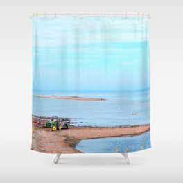 Island's End and Beyond Shower Curtain