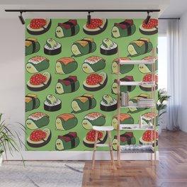 Sushi Avocado Wall Mural