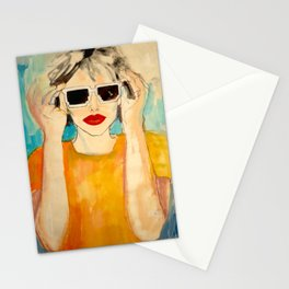 Pixel Sunglasses 01 Stationery Cards