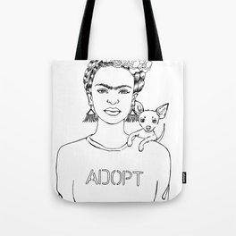 Frida Adopt Tote Bag