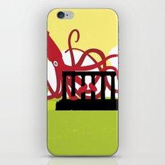 Giant Squid Attacks Edinburgh's Acropolis iPhone & iPod Skin