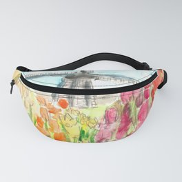 Holland in Spring Fanny Pack