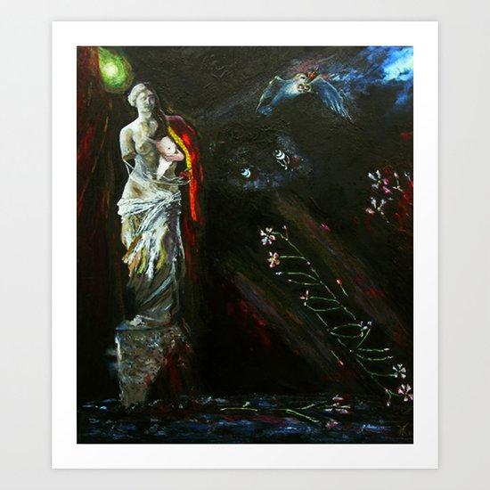 Dream of Venus Art Print