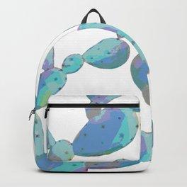 Rainbow Pastel Cacti Pattern Backpack