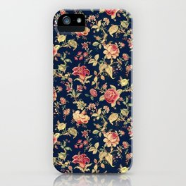 Shabby Floral Print iPhone Case