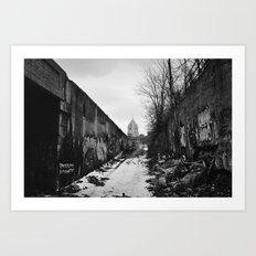 Fisher Building - Detroit, MI Art Print