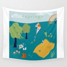 Spring Joy Wall Tapestry