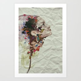 Worming Portrait Art Print
