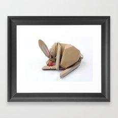 Unlucky Rabbits Foot Framed Art Print