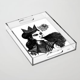the queen Acrylic Tray