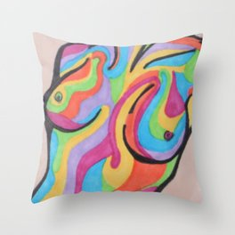 Disco Love Throw Pillow