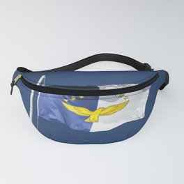 Flag of Azores islands Fanny Pack