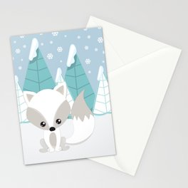 ARCTIC LANDSCAPE Stationery Cards