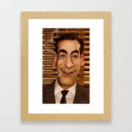 Don Draper Framed Art Print
