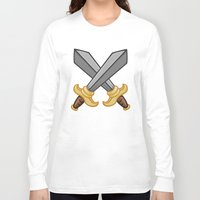 fight Long Sleeve T-shirts featuring FIGHT by Countmoopula