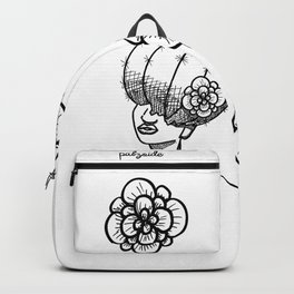 Cactus Head Pot, Flower & Fro by Pablo Rodriguez (Pabzoide) Backpack