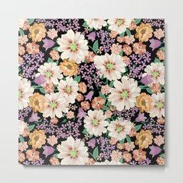 FLOWERS X Metal Print