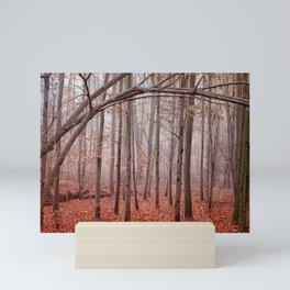 Red twilight Mini Art Print