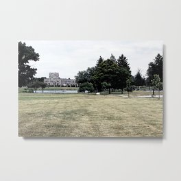 That Historical Building over there Metal Print
